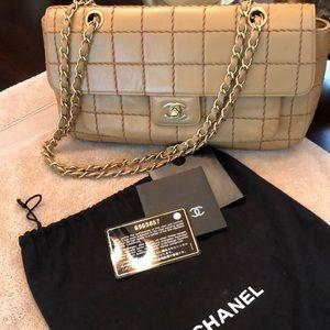 Handbags - Chanel Authentic Square Quilt Flap Bag